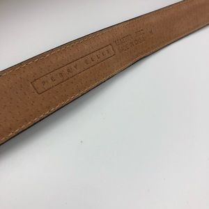 Perry Ellis Accessories - Perry Ellis Leather Belt